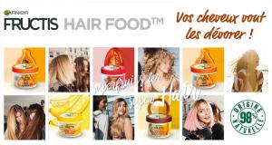 1000 masques Hair Food Fructis gratuits