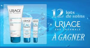 12 lots de 3 produits de soins Uriage