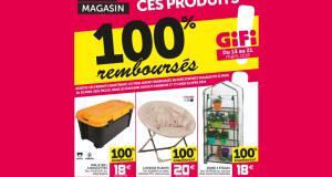 3 produits Gifi 100% remboursés (malle, chaise et serre)