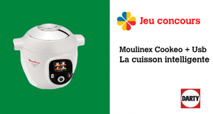 Appareil culinaire Cookeo Moulinex + Usb