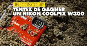 Appareil photo Nikon Coolpix W300