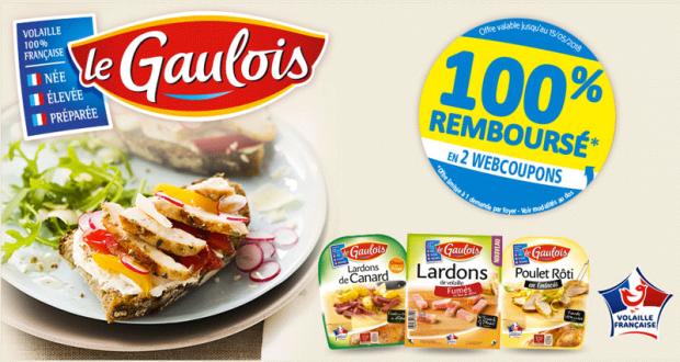 Barquette d'aides culinaires de volaille Le Gaulois 100% Remboursées