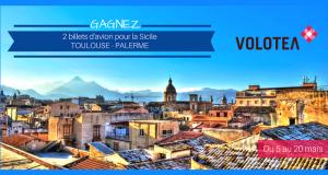 Billets d'avion AR à destination de la Sicile