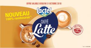 Caffe Latte Lactel 100% Remboursé