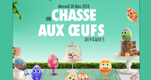 Chasse aux œufs gratuite pour Pâques chez Carrefour