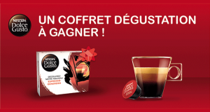 Coffrets d'échantillons de capsules à café offerts