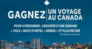 Croisière d'une semaine pour 4 sur le Canal Rideau au Canada