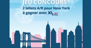 Gagnez 2 billets d'avion AR pour les USA