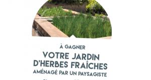 Jardin d'herbes fraîches