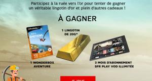 Lingotin d'or de 20gm