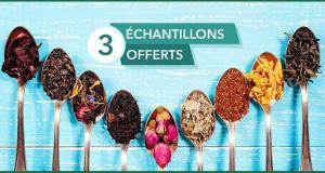 Recevez 3 échantillons gratuits de thés bio Enjoy TEA