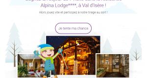 Séjour d'une semaine pour 4 à Val d'Isère en résidence 4