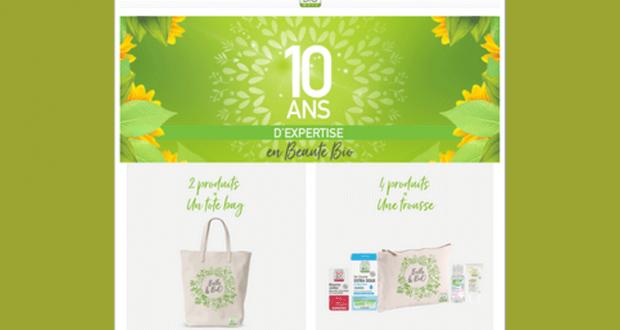 Tote Bag ou Trousse en Coton Bio Offerts - So'Bio étic