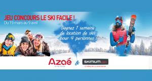 Une semaine de location de ski pour 4 personnes