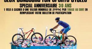 Vélo au choix (valeur 3000 euros)