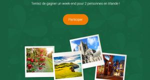 Week-end pour 2 personnes en Irlande