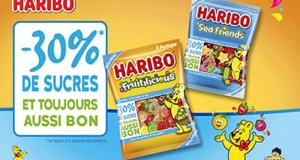 2000 packs gratuits de bonbons Haribo « -30% de sucres »