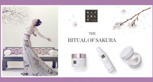 3 coffrets de 3 produits de soins Ritual of Sakura