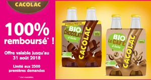 Boisson Cacolac 100% Remboursé