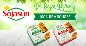 Burgers Végéteaux Sojasun 100% Remboursé