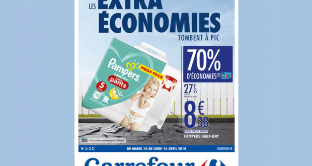 Carrefour promo couches pampers 70 - Promo couche pampers carrefour ...