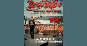 Des invitations pour le concert de Rose Tattoo