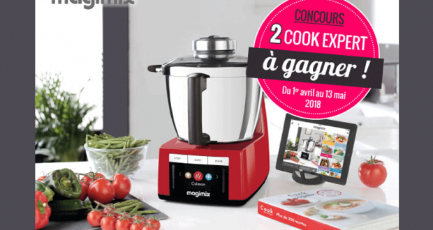 concours gagnez 2 robots de cuisine cook expert magimix. Black Bedroom Furniture Sets. Home Design Ideas
