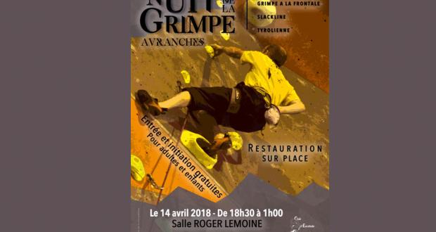 Initiation gratuite à l'escalade - Nuit de la grimpe - Avranches