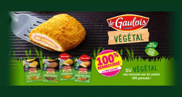 Le Gaulois Végétal 100% Remboursé