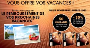 Remboursement de vos vacances (3000 euros)