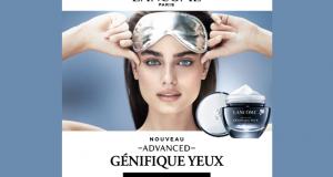 Testez la crème yeux Advanced Généfique de Lancôme
