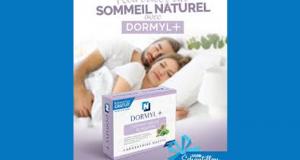 Échantillons gratuits du Complément DORMYL+ du Laboratoire Nusty