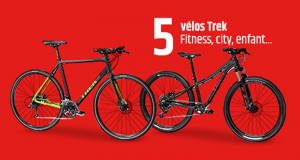 5 Vélos Trek