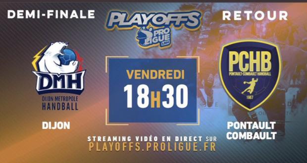 Entrée gratuite pour la demi-finale retour de Proligue Handball DMH - Pontault-Combault