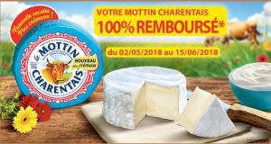 Fromage Mottin Charentais 100% remboursé