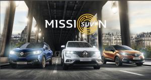Gagnez une voiture Renault SUV Captur, Kadjar ou Koleos au choix