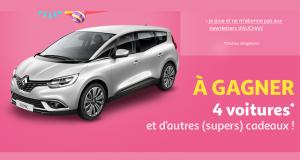 Gagnez une voiture modèle Renault Grand Scénic