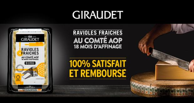 Ravioles Fraîches Giraudet 100% Remboursé