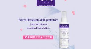 Testez la Brume Hydratante Multi-Protectrice de Cattier