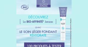 Testez le Soin Léger fondant REhydrate de Eau thermale Jonzac