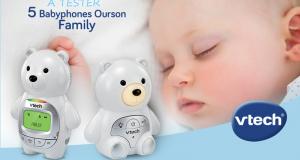 Testez le babyphone Ourson Family de VTECH