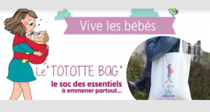 Tototte Bag gratuit rempli d'échantillons pour bébés