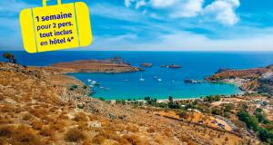 Voyage d'une semaine à Rhodes en Grèce