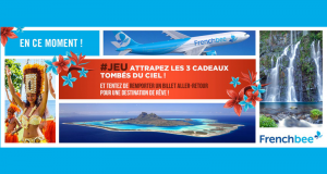 10 billets d'avion AR à destination de Papeete, La Réunion ou San Francisco