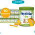 10 lots d'un an de lait infantile Physiolac
