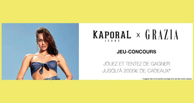 Carte Cadeau Kaporal.Concours Gagnez 2 Cartes Cadeau Kaporal De 150 Euros