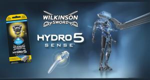 3000 packs de rasoirs Hydro 5 Sense de Wilkinson