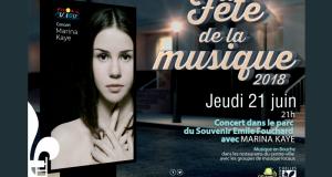 Concert Gratuit de Marina Kaye pour la fête de la musique
