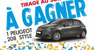 Gagnez une voiture Peugeot 208 d'une valeur de 17506 euros