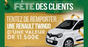 Gagnez une voiture Renault Twingo Life SCE 70 E6C